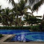 Um pouco da piscina...