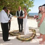 Our remote beach wedding! Perfect!