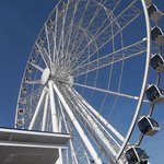 The Wheel on the Island in Pigeon Forge