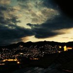 veiw of cusco at night