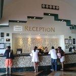La recepcion del hotel