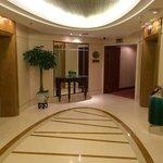 Lift lobby on my floor