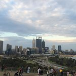 The view of Perth from Kings Park War Memorial