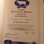 Beef Club Member