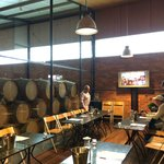The private tasting room at Rochford wines