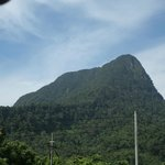 Mount Santubong (View from Village House)