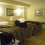 Bedroom, very comfortable beds
