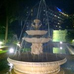 Fountain near Ocean Terrace restaurant