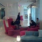 Hotel Lobby - mid-century decor is amazing
