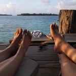 Relaxing foot