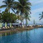 Magellan pool overlooking the ocean