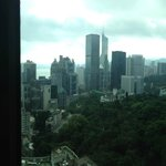 View from 14th floor bedroom suite.  (corner window)