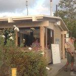 Ranger station entrance