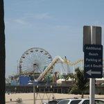 At Santa Monica Pier