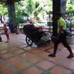 Service bagage / accueil au port