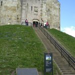 Entrance to the Clifford Tower