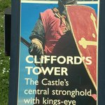 Sign- Clifford Tower