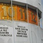 Detalhe do relógio universal (Brasil)