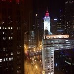view from 2505 at night