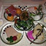 tasting plate - yummy