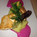 salmon - excellent