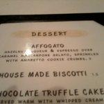 Description of dessert