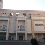 the macys next to the mall