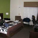 Ground floor room with Queen bed.