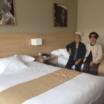 Our room with our grandparents