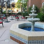 Beautiful courtyard with fountain!