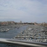 From the Ferris Wheel in Marseille Marina