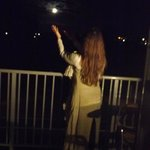 Capturing the Full Moon from the balcony