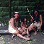 Beautiful women at Bai's village