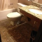 Rm#113 King Single - All bathrooms have new granite sinks with stone tile floors