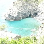 view point spot - such blue waters in Cinque Terre