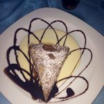 Crepe from the romantic dinner at the crepe restaurant. So good!