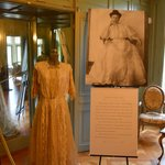 The first lady of the house, her wedding dress, on the 2nd floor.