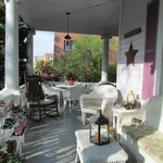 The relaxing & inviting front porch