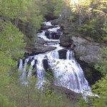 waterfalls along roadside