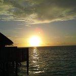 sunset from villa 86