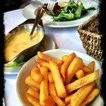 Beefsteak mit Estragonbernaise