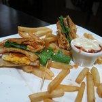 Club sandwich - yummy!