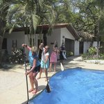 Paddle stroke practice!