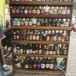 Some of the boutique beers available at Chokdee