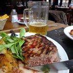 """Bife de Chorizo """"muy jugoso"""" - contra filé muito especial."""
