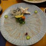 Very tasty pufferfish, must try in Osaka