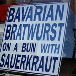 Menü Bratwurst