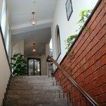 風情ある階段