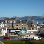 View of Rothesay from the Castle