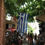Spent the day walking around the Plaka area with its many souvenir shops and tavernas
